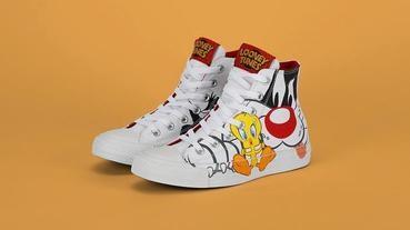 CONVERSE攜手華納兄弟推出全新Looney Tunes系列