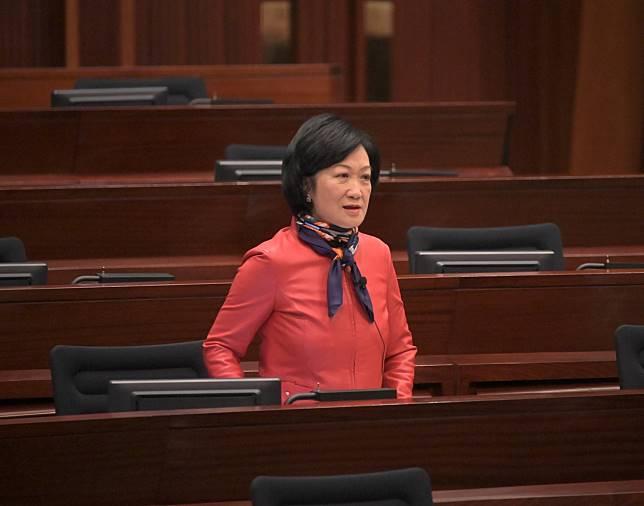 新民黨主席葉劉淑儀。資料圖片