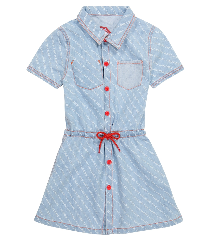 For a delightful dose of animal magic, this blue denim dress from The Marc Jacobs can be reversed to