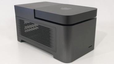 比指揮挺組合更強!ANIMAIONIC 讓 Mac mini 變身工作站,最多加掛 4 張顯示卡和 4 個 NVMe SSD!