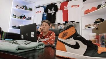 16 歲少年靠著球鞋致富 成立自己的球鞋王朝!