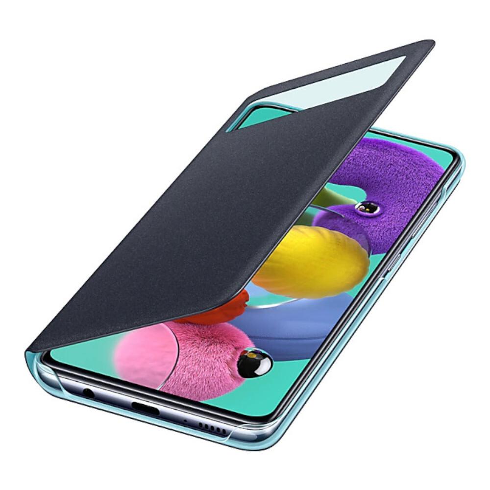 攜帶便利 Galaxy A51 透視感應皮套採用隱藏式卡袋設計,讓你每天都能隨身攜帶需要的卡片。 提供全方位的安全保護 Galaxy A51 透視感應皮套以輕巧耐用的設計,為手機提供全方位的保護。 輕