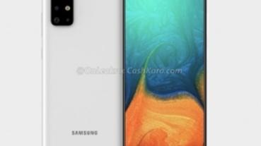 又見 L 型四鏡頭:Galaxy A71 渲染圖外流