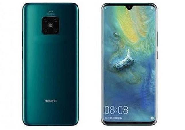 Bocoran Huawei Mate 30 Pro   (new.qq.com)