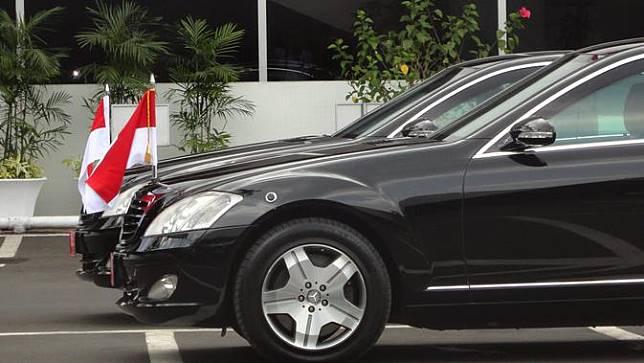 Mengintip Gagahnya Mobil Dinas 'Indonesia 1' Jokowi