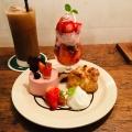 おやつプレート - 実際訪問したユーザーが直接撮影して投稿した新宿カフェカフェ ウォールの写真のメニュー情報