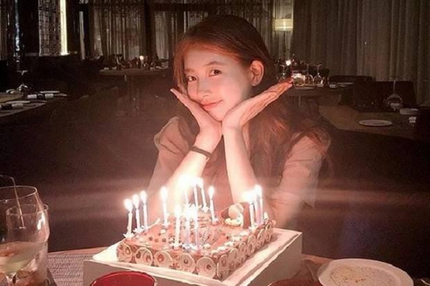 Suzy Bae Rayakan Ulang Tahun Sendirian?