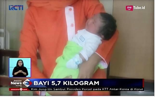 Selain di Cilacap, Ini 5 Bayi Jumbo di Tanah Air, Ada yang Beratnya 8,7 Kg!