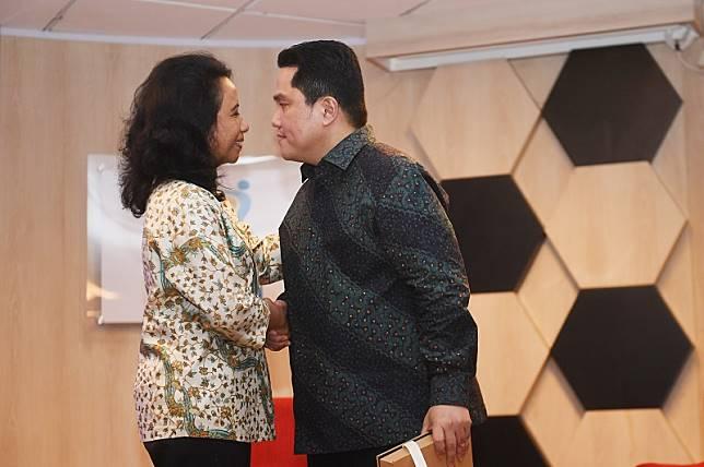 Erick Thohir 'buang' semua pejabat BUMN era Rini Soemarno