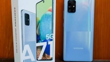 超值中階 5G 手機登場:Samsung Galaxy A71 5G開箱