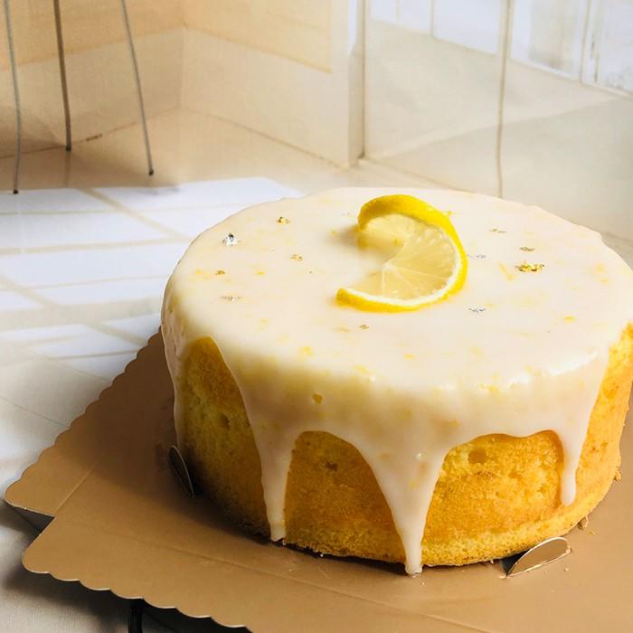 【ponpon手作甜點】老奶奶檸檬蛋糕 / 盒約620G / 蛋糕