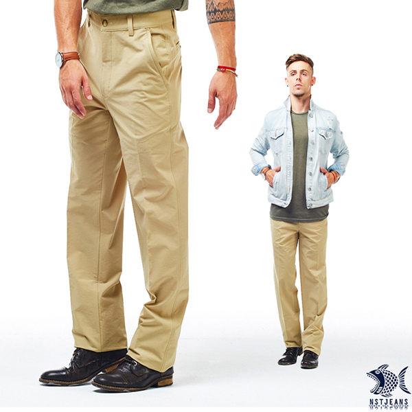 【NST Jeans】四面彈_黃金世代 防潑水機能男褲(中腰) 390(5639) outlet款 台製 紳士 男