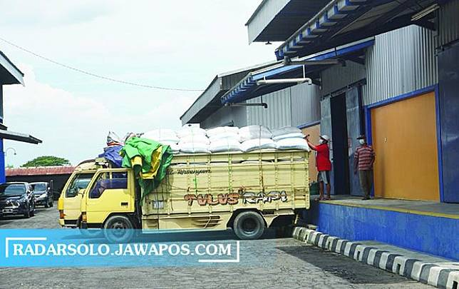 DPKPP Klaten Pastikan Stok Beras Cukup hingga Lebaran
