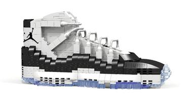 新聞分享 / 用樂高打造的 Air Jordan XI 'Concord'