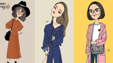 泰國的時尚風格~走得好前哦!泰籍插畫家給夏日穿搭靈感~超火辣的!