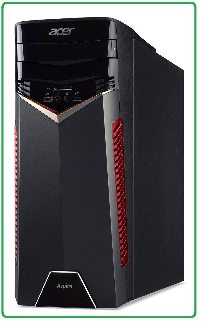 ACER GX-781 混碟獨顯電競桌機 i5-7400;8GB*1;M.2 128G/1T;DVDR;CR/GTX1050 2G;FR500W/W10HML;USB鍵盤/USB滑鼠;DT.B。電腦軟