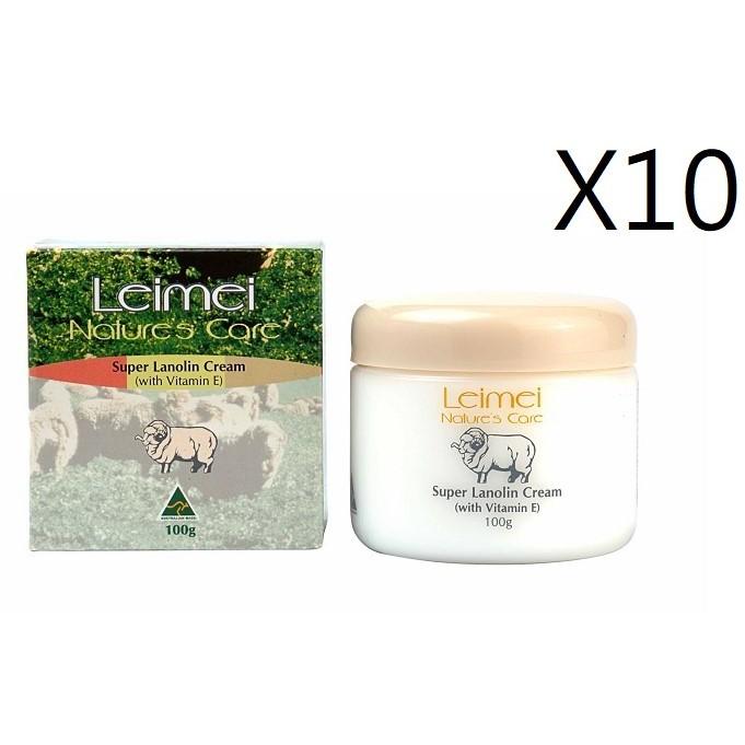Nature's care 澳洲特級綿羊霜 100g/10瓶 【澳洲晶艷】