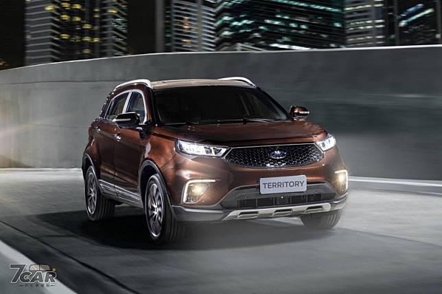 預計2020 年推出ford Territory 將攻入南美洲市場