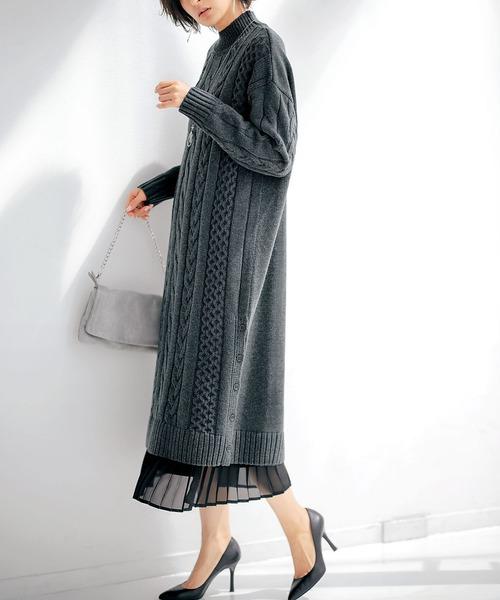 簡約針織連身裙