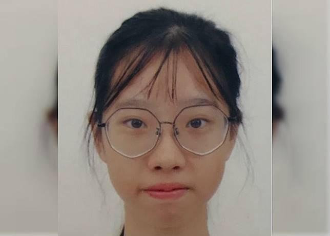 失蹤的16歲少女盧綽瑤。(警方圖片)