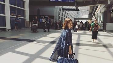 【旅行⎪LEGEND WALKER行李箱】兼顧機能與美型!香港輕旅行李箱私推!