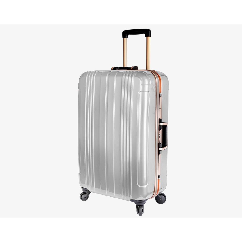 加賀皮件 COSSACK SPACE 銀河系列 多色 亮面 PC 靜音輪 鋁框 旅行箱 27吋 行李箱 2036