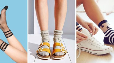 襪子控小心了!別以為夏天就不能穿,時尚潮人一定要學會的穿搭攻略