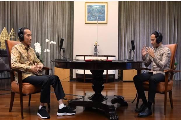 Ditanya Jokowi soal Filosofi Ki Hajar Dewantara, Nadiem Jawab Merdeka Belajar