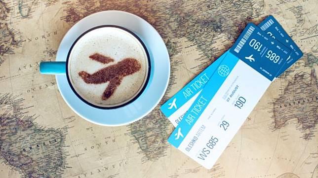 Ilustrasi tiket pesawat. [Shutterstock]