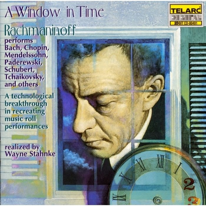 時光之窗II 拉赫曼尼諾夫演奏巴哈 蕭邦 舒伯特 Sergei Rachmaninoff 80491