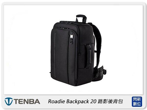 【折價券現折+點數10倍↑送】Tenba 天霸 Roadie Backpack 20 路影後背包 相機包 黑色 (公司貨)。數位相機、攝影機與周邊配件人氣店家閃新科技的 攝影背包專區、Tenba有最棒