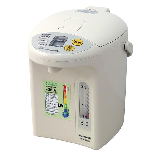 Panasonic國際牌3公升真空斷熱電熱水瓶 NC-BG3001