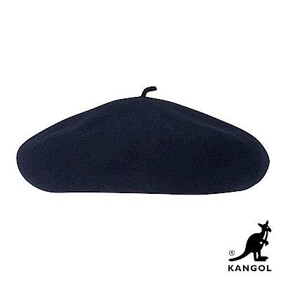 KANGOL貝蕾帽-深藍色