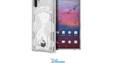 三星推 Galaxy Friends《冰雪奇緣 2》主題配件,包含 Note 10+ 智慧背蓋與 Galaxy Buds 保護殼