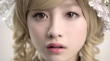 橋本環奈披露全新「金髮」造型 精緻到不像是真人!