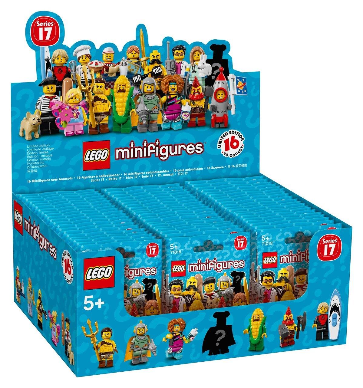 樂高LEGO 17代人偶抽抽包
