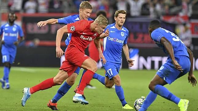 Aksi Erling Haaland, Remaja 19 Tahun yang Hattrick di Liga Champions