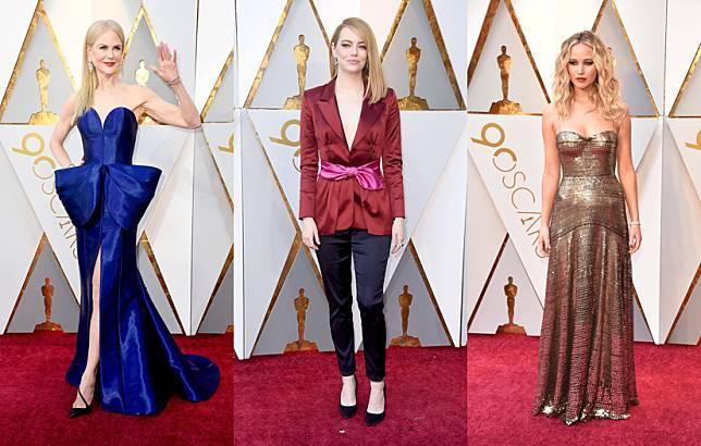10 Selebriti Dunia Berbusana Terbaik di Ajang Oscar 2018