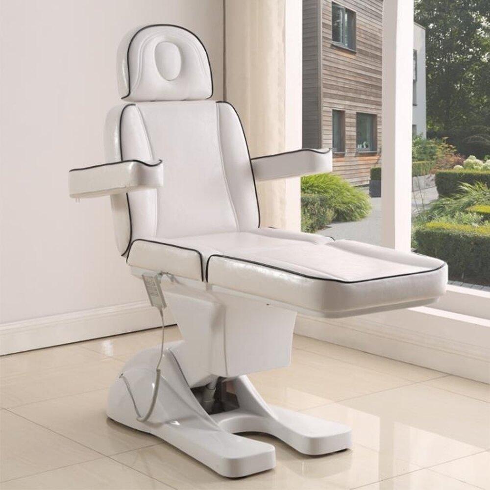 220V電動美容床升降多功能紋身床紋繡牙科微整按摩電動椅QM『櫻花小屋』