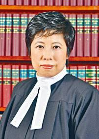 ■東區裁判法院暫委特委女裁判官何麗明。