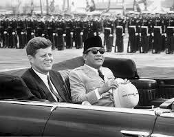 Foto: Kunjungan Soekarno ke Amerika.