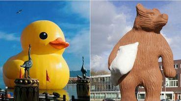 全球首次在台北!黃色小鴨藝術家霍夫曼集結11件經典動物作品,把動物FUN大了!