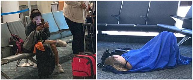 10 Momen kocak saat nunggu di bandara ini, bikin geleng kepala