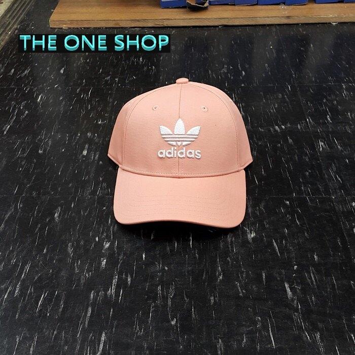 Adidas TREFOIL CAP 三葉草 老帽 帽子 鴨舌帽 棒球帽 經典 粉色 粉紅色 DV0173