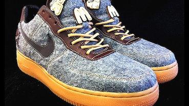 """Nike Air Force 1 """"Eighty81 Letterman"""" 美式棒球外套概念"""