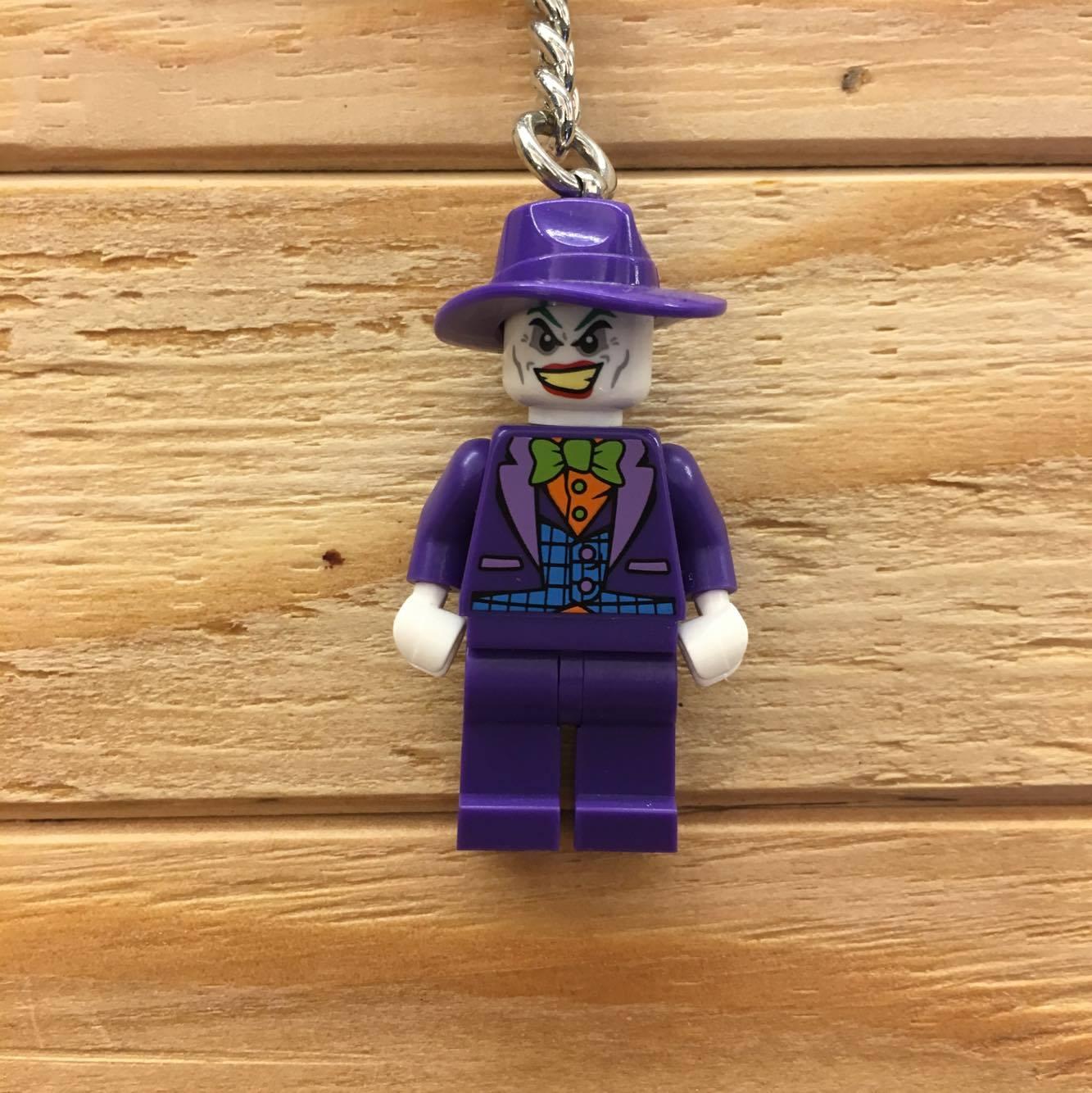 BEETLE LEGO THE JOKER小丑 蝙蝠俠 樂高玩電影 樂高 積木 玩偶 吊飾 鑰匙圈 玩具 正品 聖誕禮物