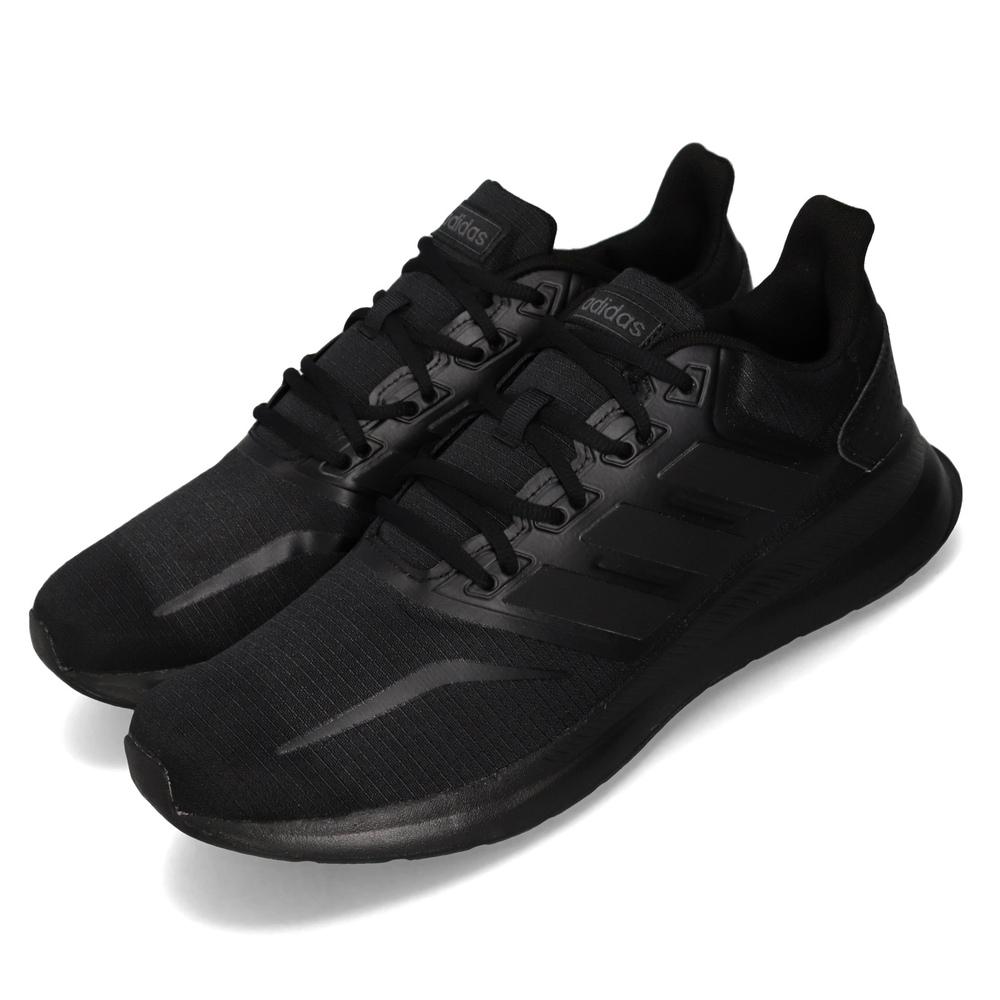 專業慢跑鞋品牌:ADIDAS型號:F36209品名:Runfalcon配色:黑色,黑色