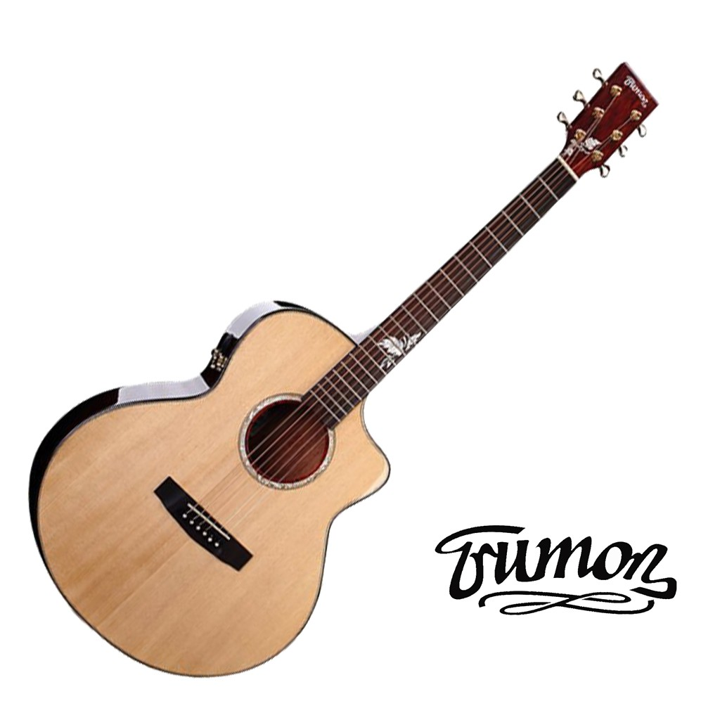 Trumon楚門吉他 J850F 41吋 面背單 雲杉面板 桃花心木背側 民謠吉他 木吉他 - 【黃石樂器】