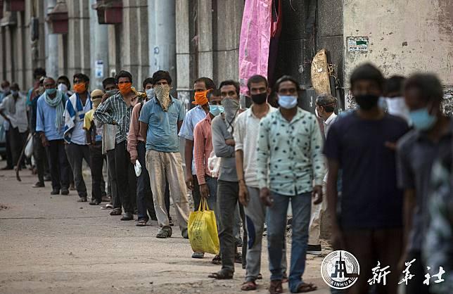 อินเดียพบป่วยโควิด-19 เพิ่ม 7,466 ราย ทุบสถิติสูงสุดในรอบวันครั้งใหม่
