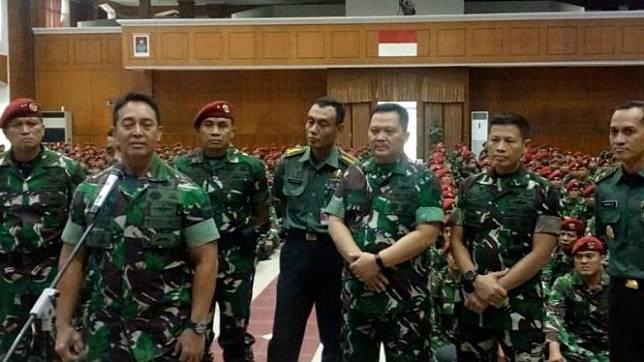 Kepala Staf TNI AD Jenderal Andika Perkasa, Senin, 20 Mei 2019.